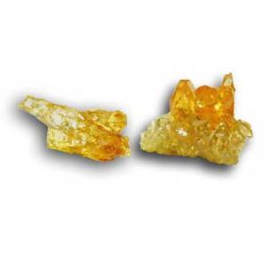 cristal de zincite jaune