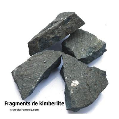 kimberlite pierre de protection connection au chakra étoile de la Terre