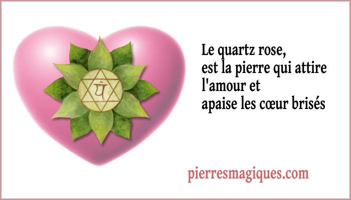 Le quartz rose, la pierre de protection pour attirer amour et apaise les cœur brisés